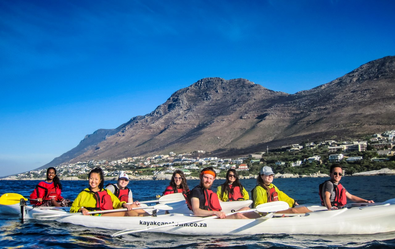 Kayak to the Penguins in Simons Town